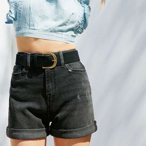 Urban Outfitters Mom High Rise Denim Shorts